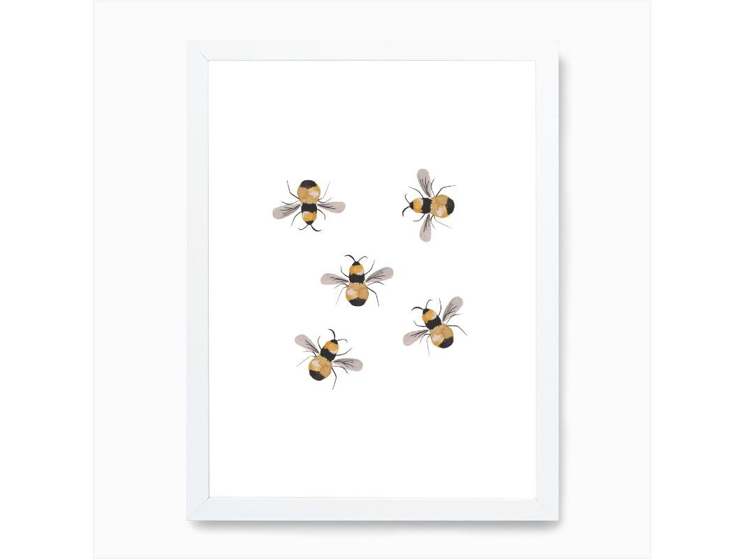 Bumblebee Wall Art Print
