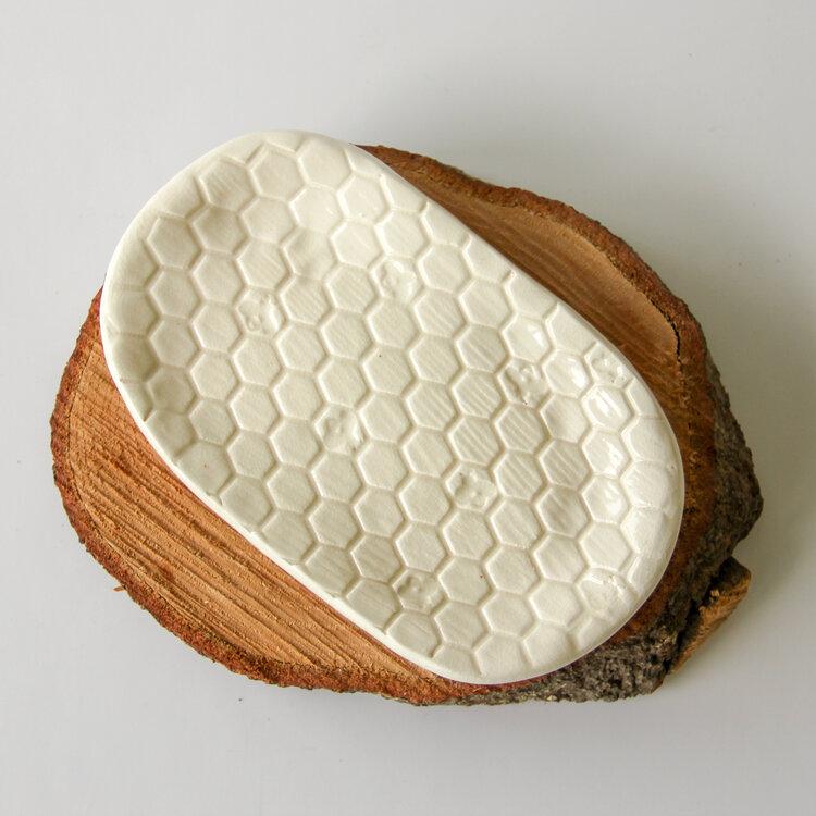 Beehive Soap Dish