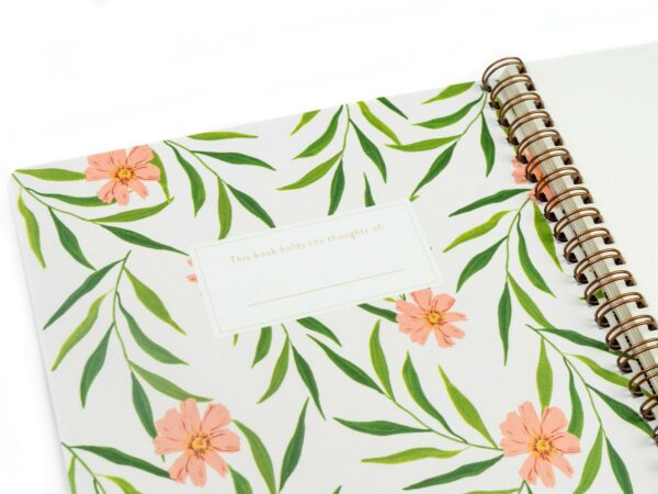 Sparrow Handmade Writing Notebook
