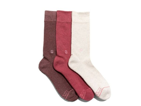 Organic Cotton Socks that Prevent Breast Cancer - Small
