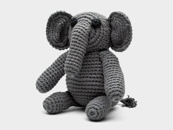 Elephant Crochet Stuffed Animal
