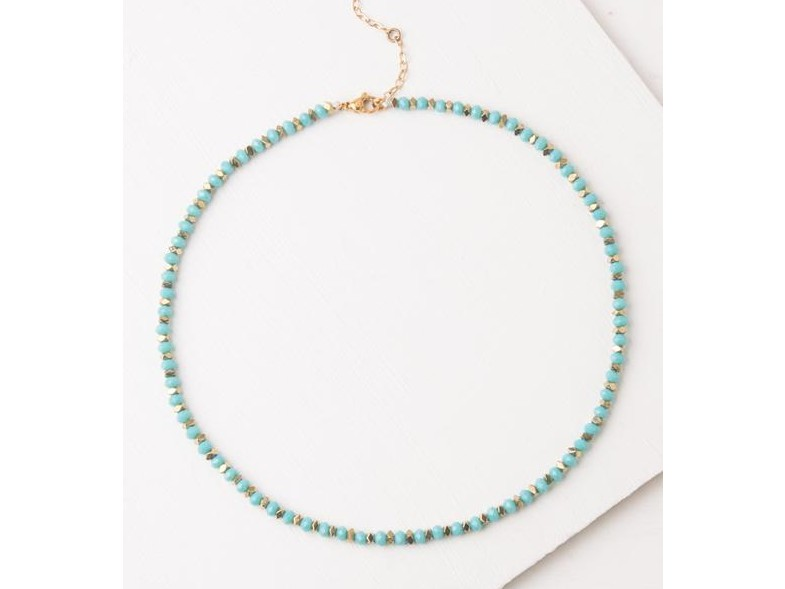 Joan Teal Necklace