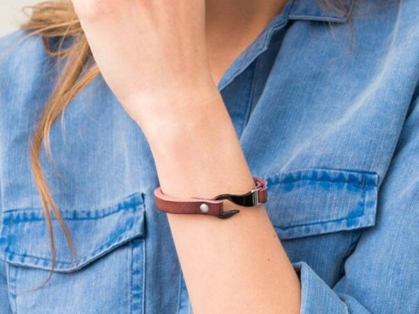Kailey Leather Cuff Bracelet
