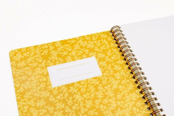 Meadow Handmade Writing Notebook