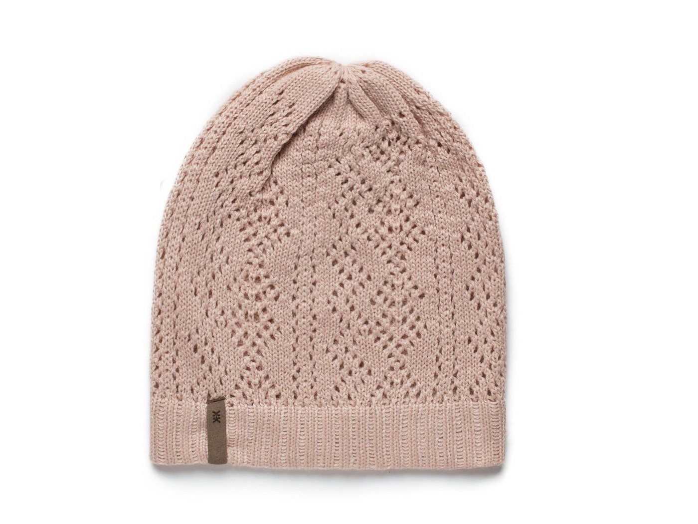 The Hayley Beanie – Pale Rose