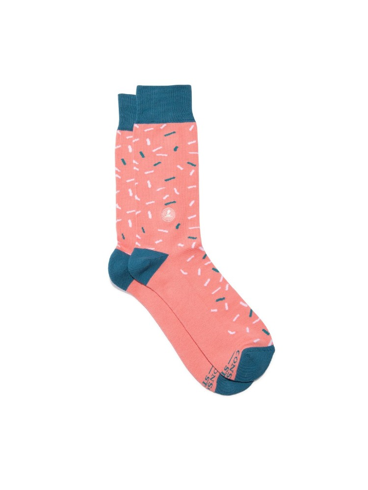 Organic Cotton Socks That Find a Cure – Small