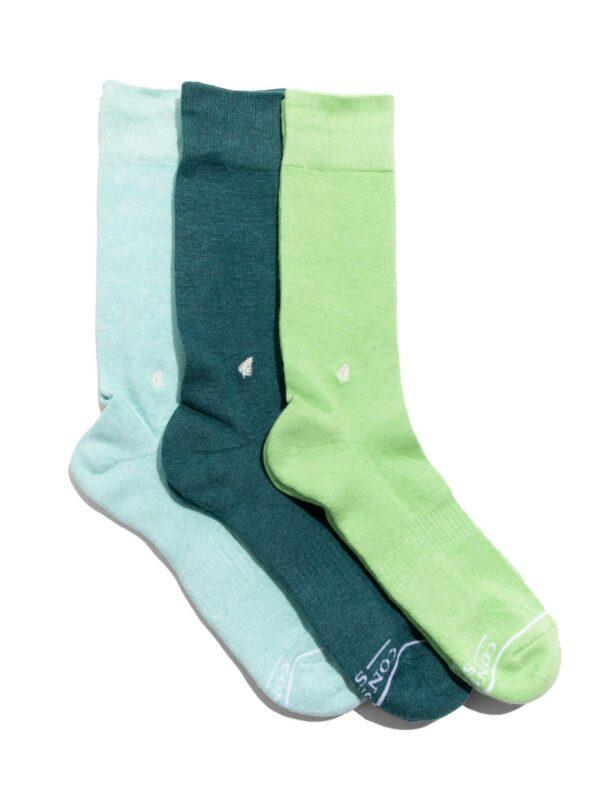 Organic Cotton Socks that Protect the Tropical Rainforests Gift Box - Medium
