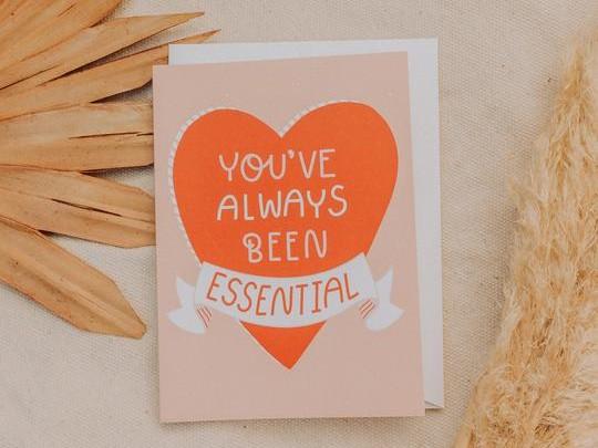 Blank Essential Greeting Card