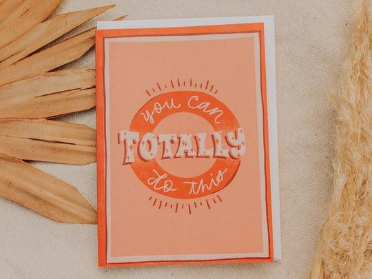 You Can Do This Greeting Card