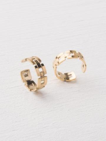 Laurel Gold Ear Cuffs