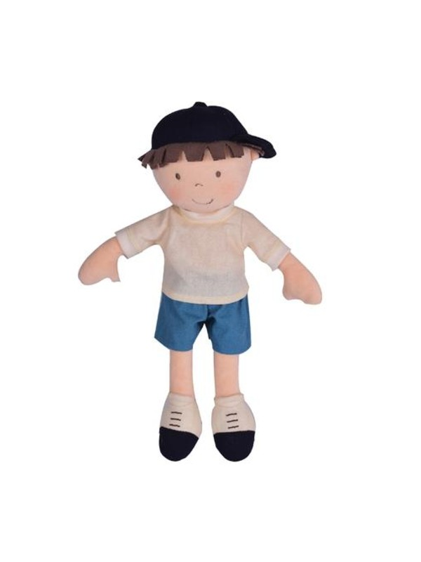 Jasper – Boy Doll in Blue Shorts