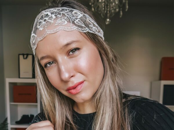 Dainty Lace Embroidered Headband