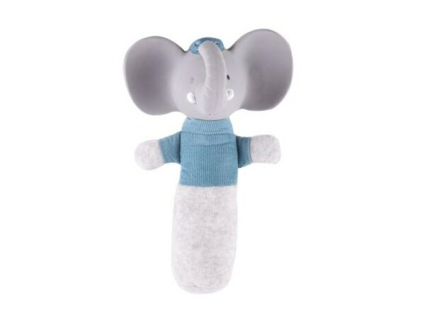 Alvin the Elephant - Soft Squeaker Sound Toy with Rubber Head