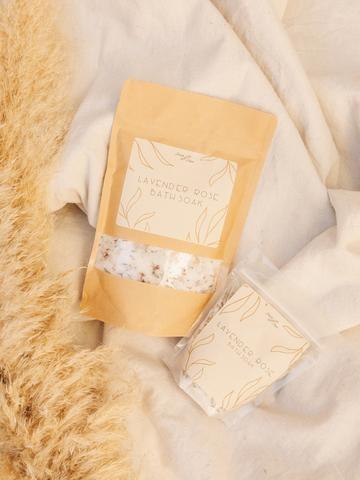 Lavender Rose Bath Soak – Large Bag