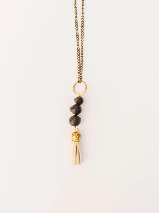 Handmade Felicia Tassel Necklace