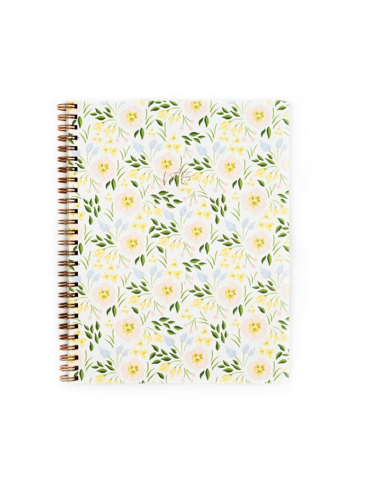 Orchid Handmade Writing Notebook