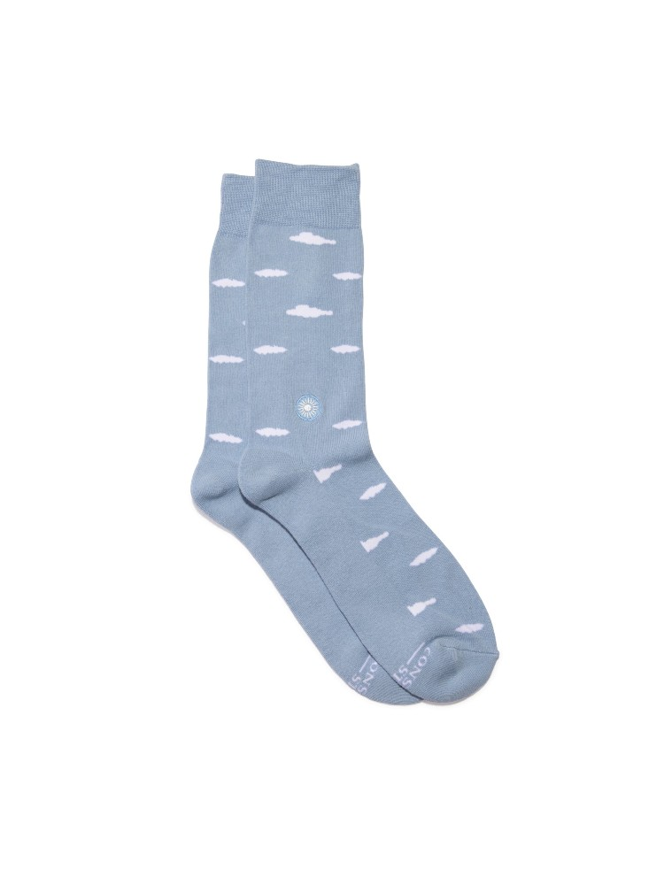 Organic Cotton Socks That Support Mental Health – Small