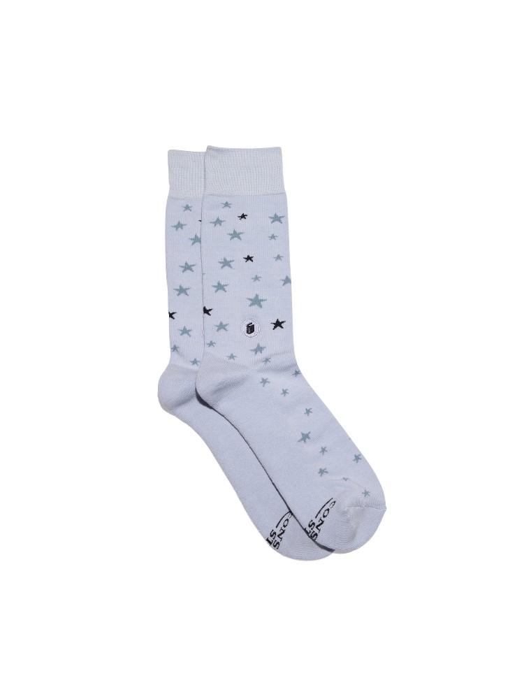 Organic Cotton Socks That Give Books – Small