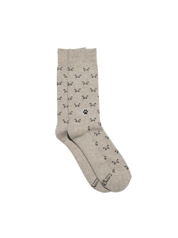 Organic Cotton Socks That Save Cats - Small