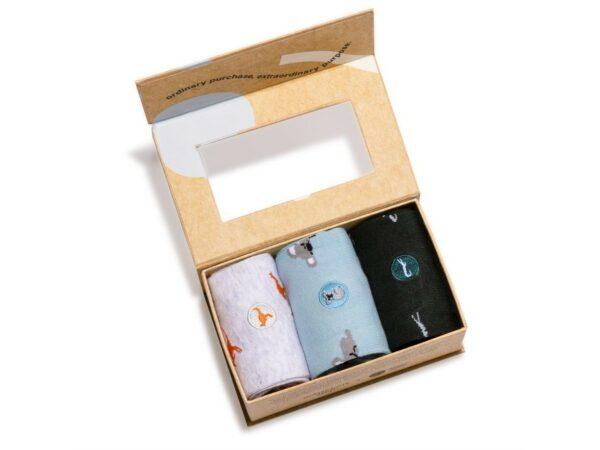 Socks gift box - Socks that protect animals