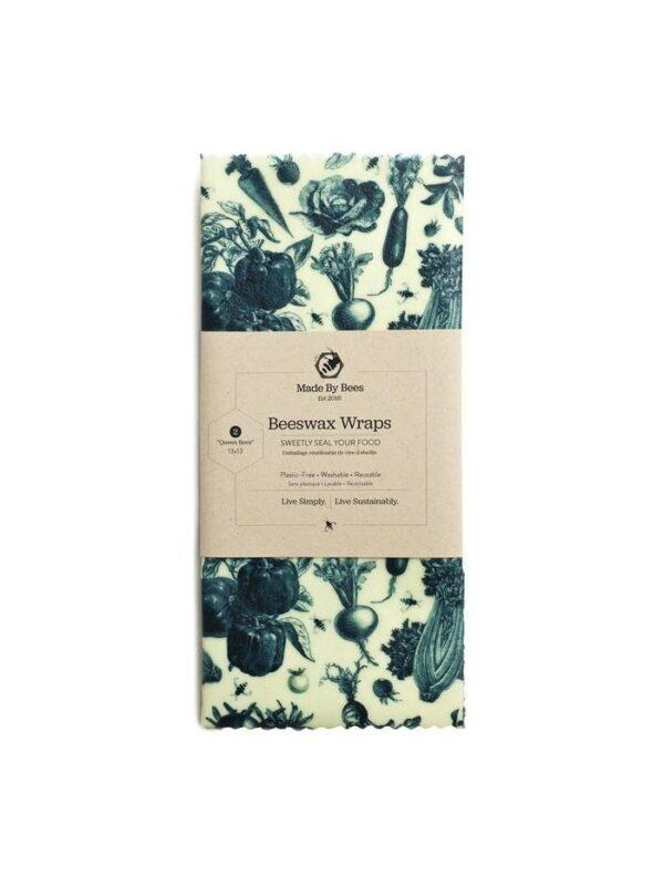 Handmade Beeswax Wraps - Vintage Veges