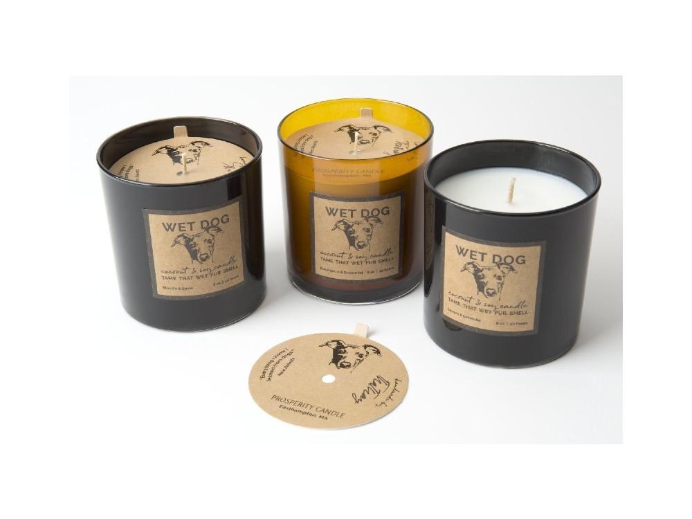 Wet Dog Candles – Amber
