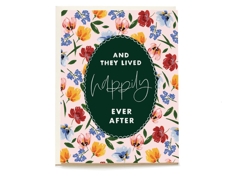 Storybook Ending Wedding Card