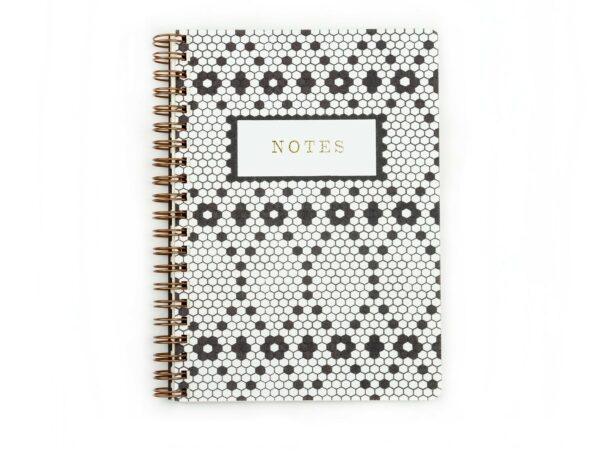 Retro Tile Handmade Writing Notebook