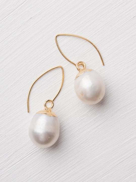 Katherine Pearl Earrings