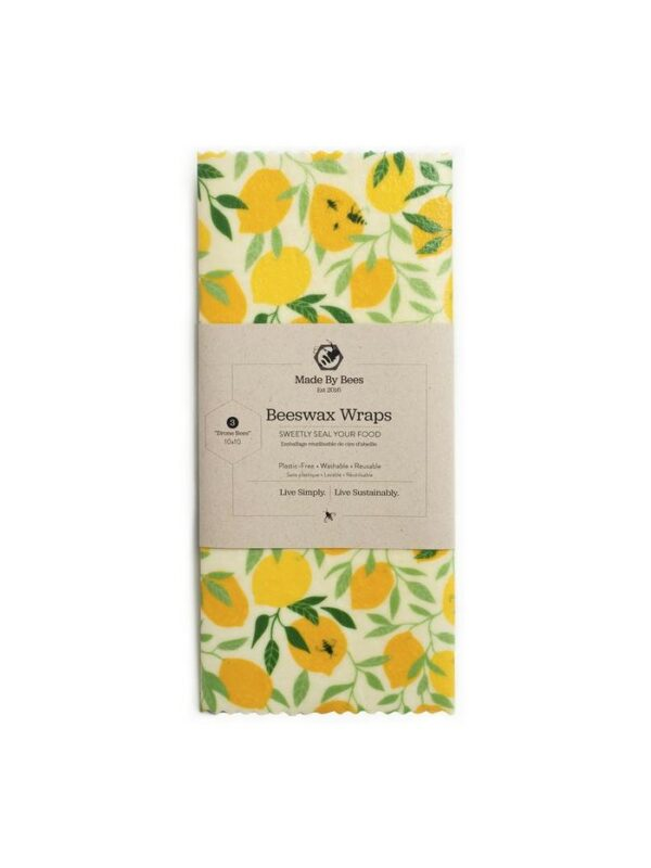 Handmade Beeswax Wraps - Lemons!