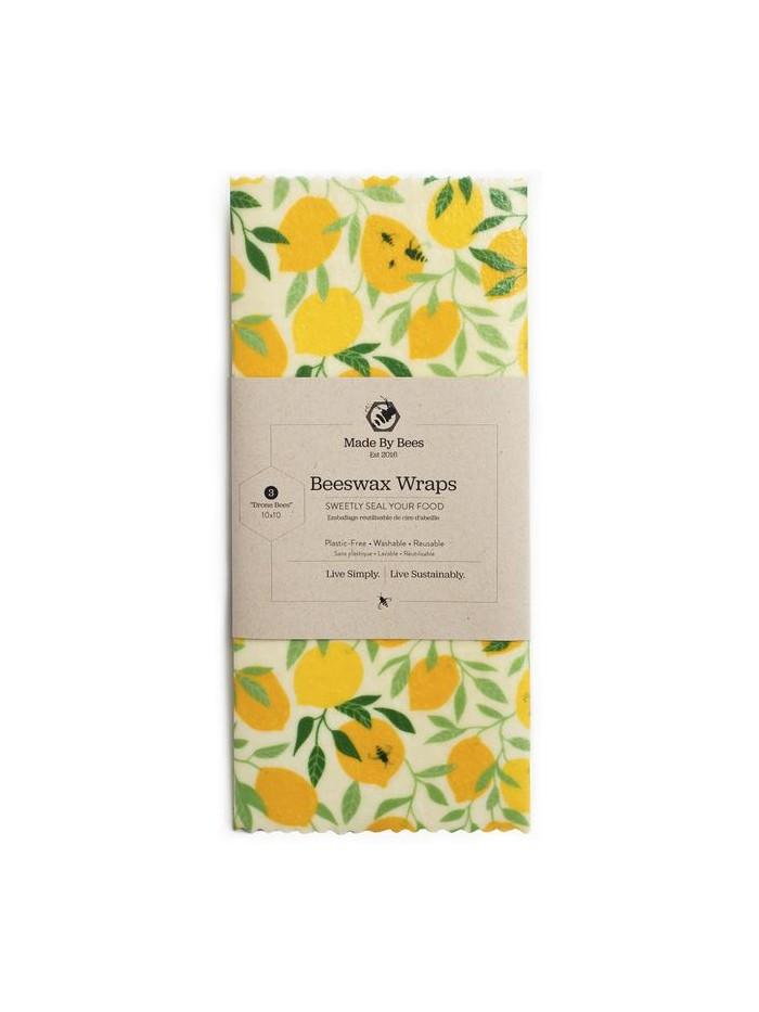 Handmade Beeswax Wraps – Lemons!