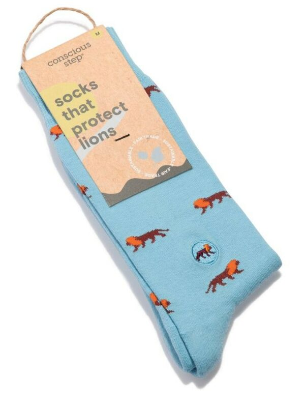 Organic Cotton Socks That Give Books - Small