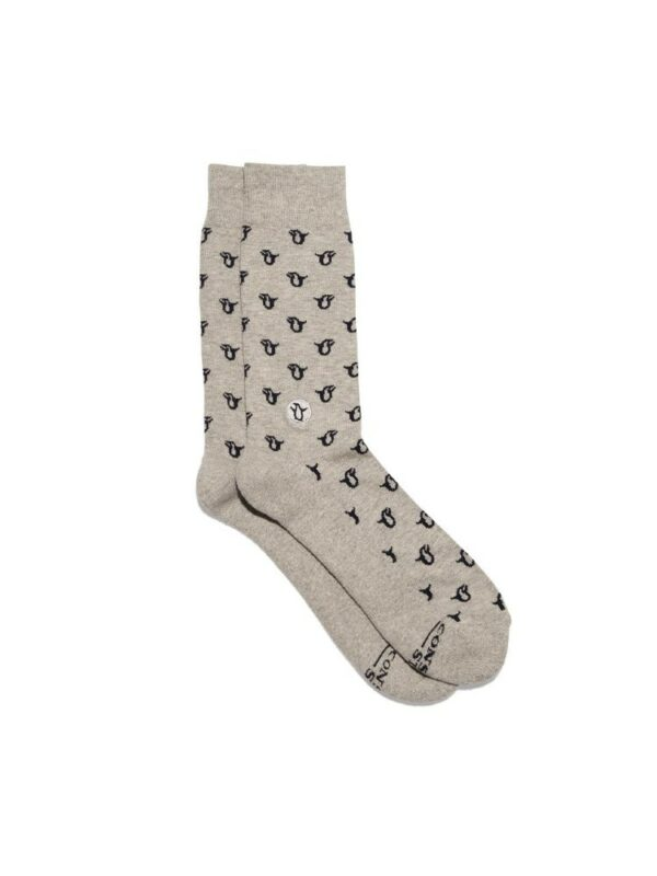 Organic Cotton Socks That Protect Penguins - Small