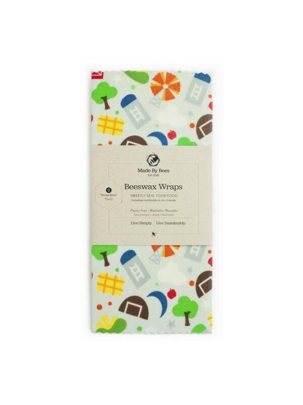 Handmade Beeswax Wraps - Farm Life