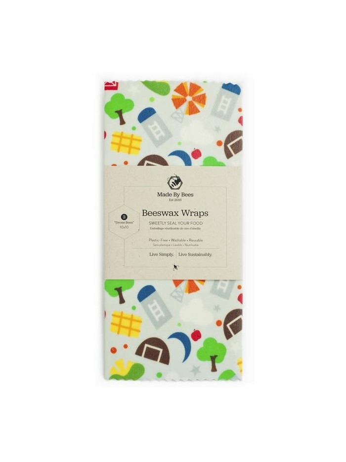 Handmade Beeswax Wraps – Farm Life