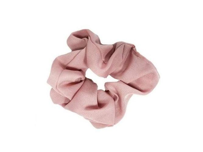 Scrunchie Pink Solid