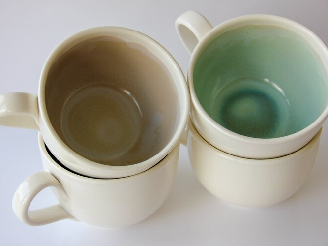 Artisan Soup Mug – Green Sapphire