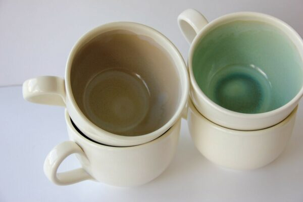 Artisan Soup Mug - Green Sapphire