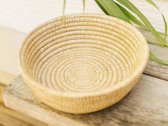 Small Woven Basket – Natural