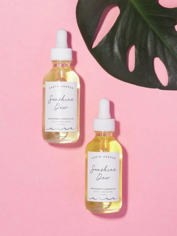 SUNSHINE DEW Antioxidant Cleansing Oil & Makeup Remover
