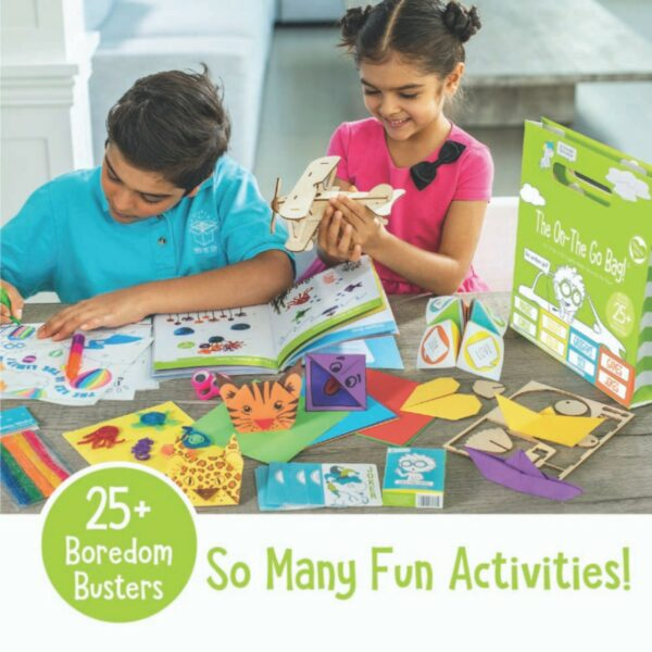 On the Go Activity Bag for Kids