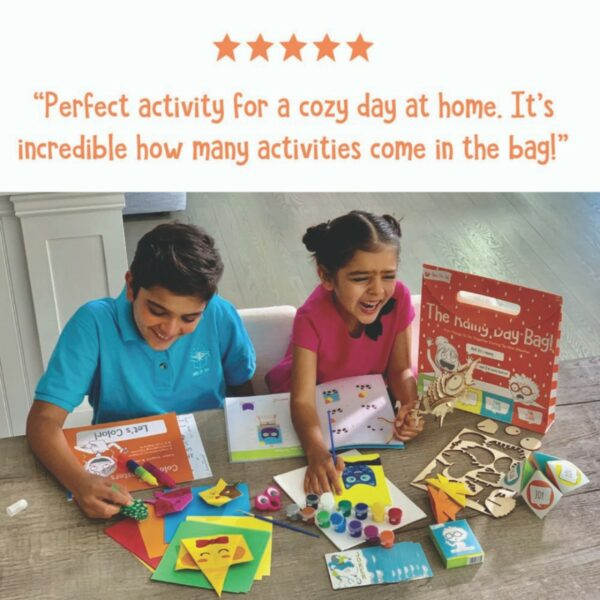 Rainy Day Activity Bag for Kids