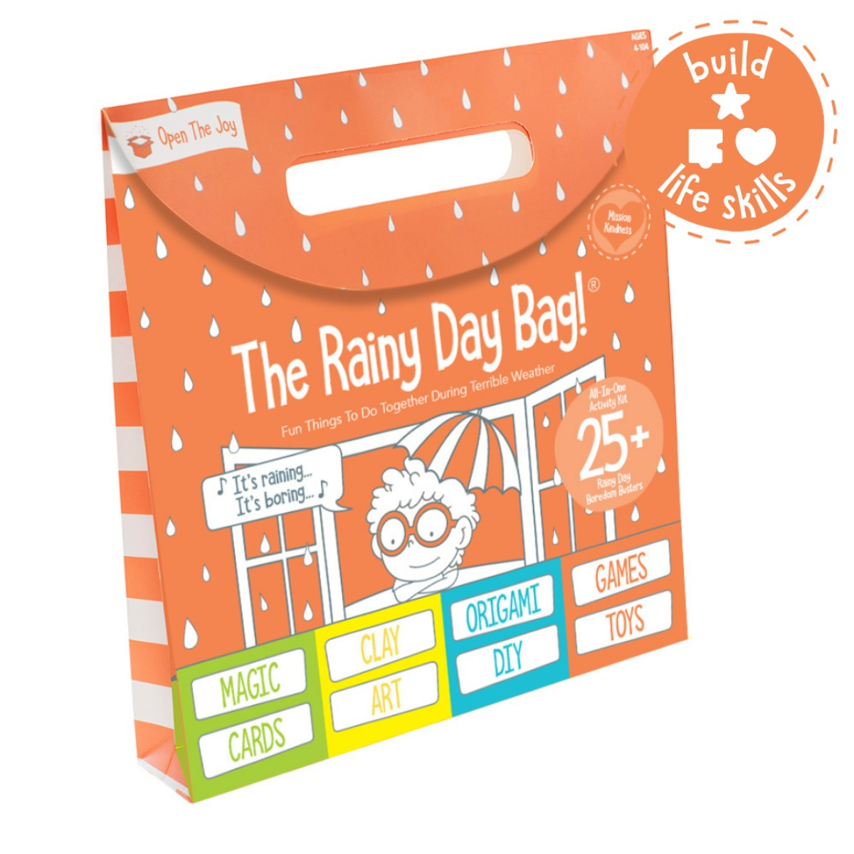Rainy Day Bag: All-in-One Activity Kit