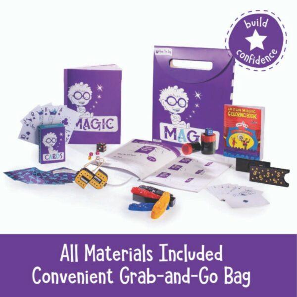 Magic Activity Bag for Kids: Build Confidence