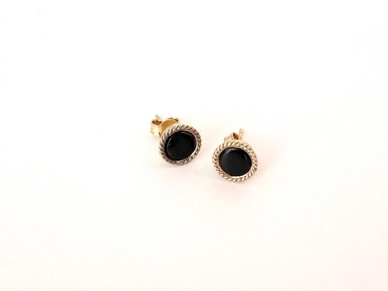 Boudron Earrings – Horn
