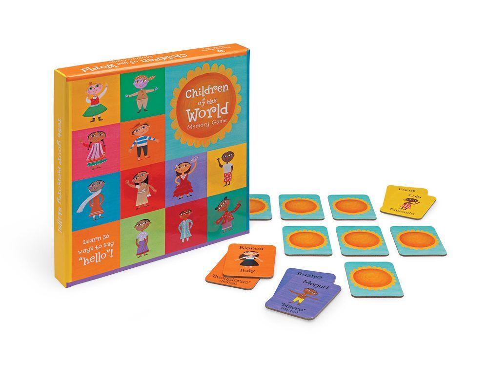 Children of the World – Memory Game for Kids