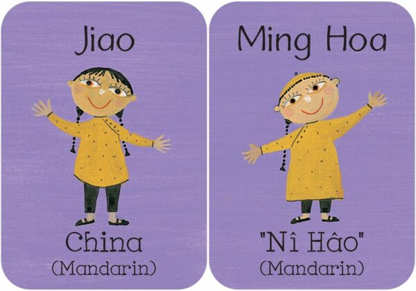 Children of the World Memory & Matching Game for Kids