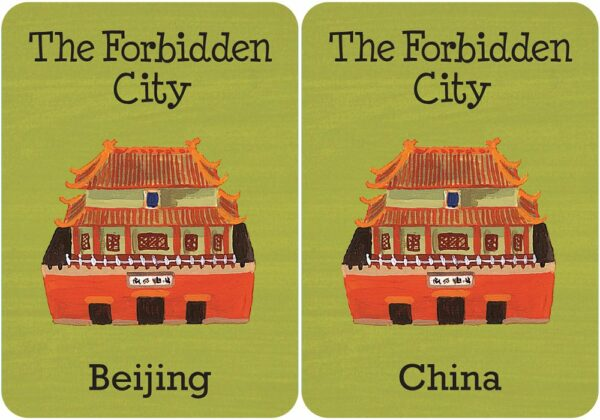Cities of the World Memory & Matching Game