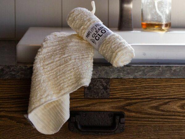 Multi-Purpose Cleaning Cloth: Cotton Chenille - Black
