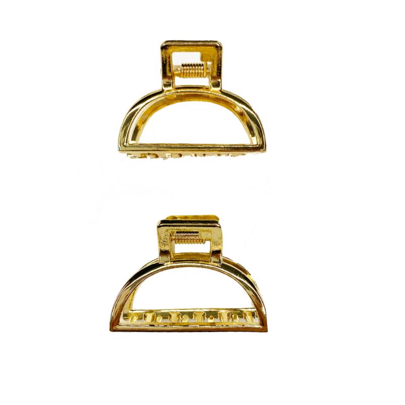 Pretty Gold Clips